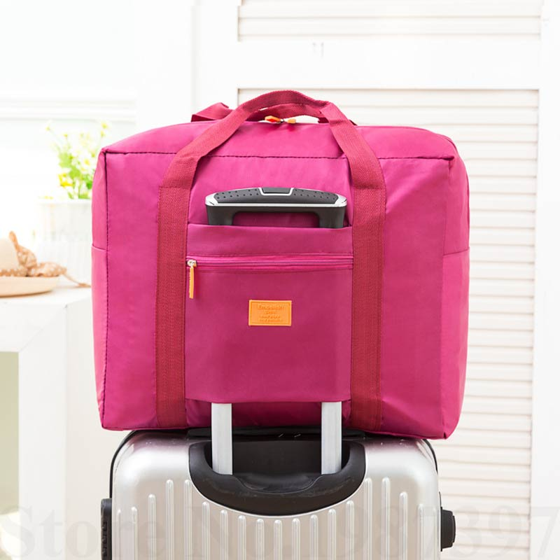 MAKORSTER Travel Luggage Bag Big Size Folding Carry on Duffle bag Foldable  Pouch waterProof Women Travel Bags XH233-in Travel Bags from Luggage   Bags  on ... 194ff5208ca6c