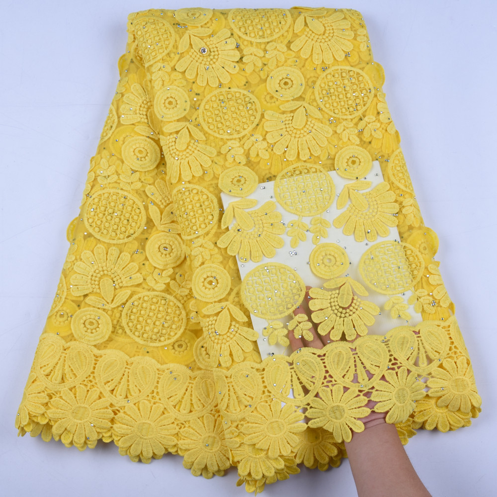 Fashionest 3D Applique Milk Silk Lace French African Tulle Lace Fabric High Quality Nigerian Lace Fabric