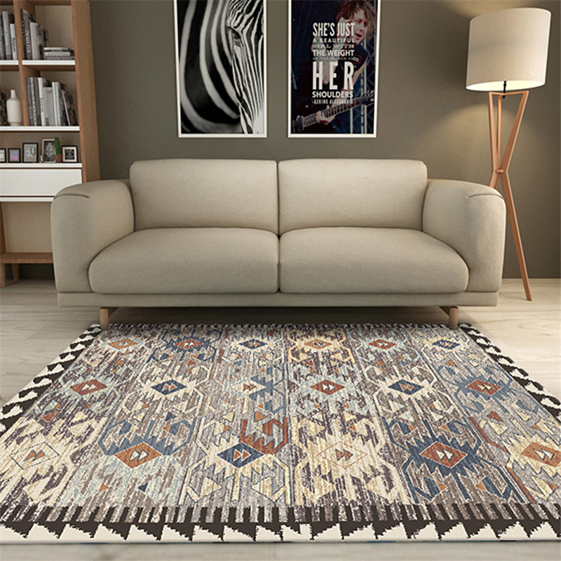 Vintage Classic Large 200x300CM Area Rugs Home Carpets For Living Room Antiskid Mat Geometric <font><b>3D</b></font> Printed <font><b>Tapetes</b></font> Tapis Salon image