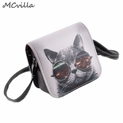 2017 fashion women s handbags carteras pu leather cat wearing big glasses print shoulder handbags small.jpg 250x250