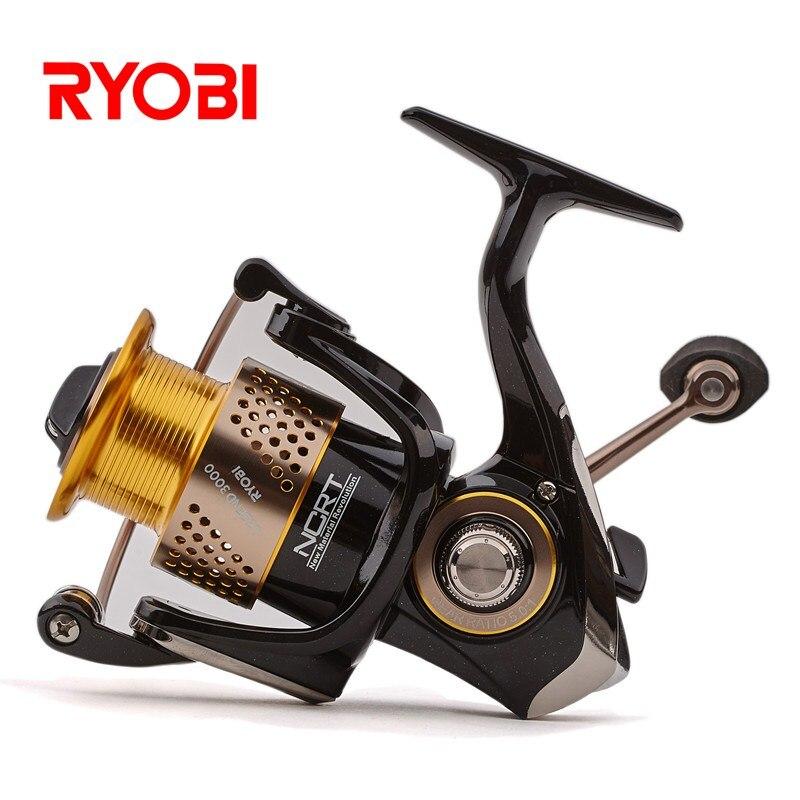 100% Original RYOBI japon LEGEND (SLAM) Moulinet de pêche en rotation 6BB 5.0: 1 5.1: 1 Moulinet de pêche de carpe d'eau salée en métal Moulinet Pesca