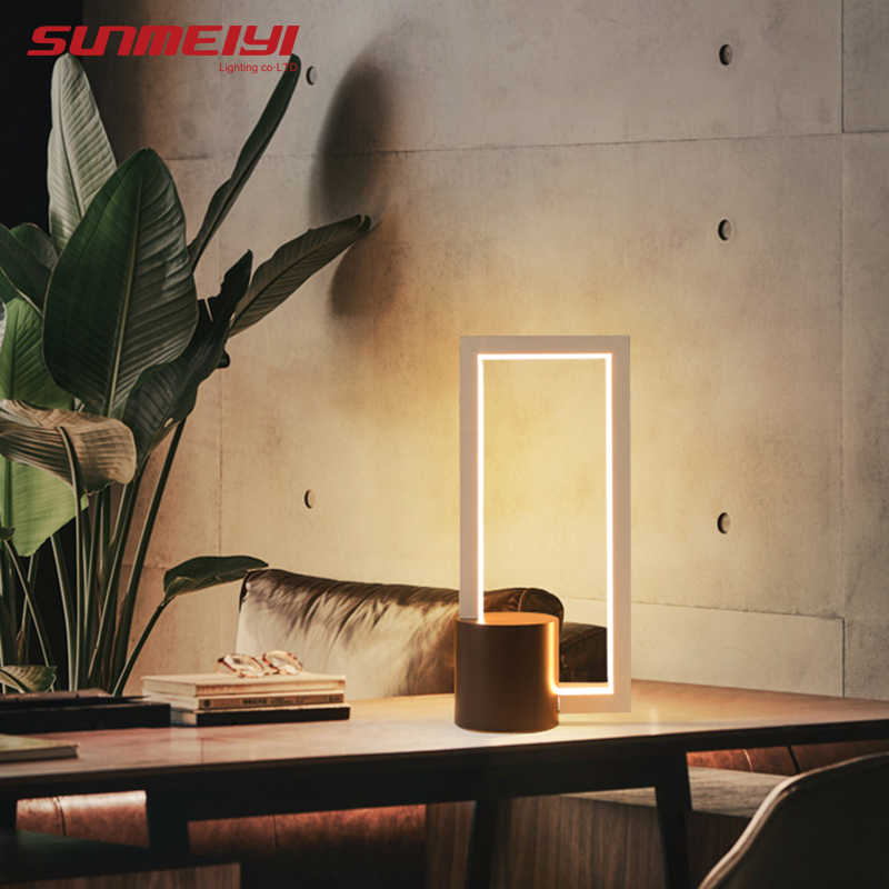 Modern LED Table Lights For Bedroom Living room Reading Study Simple Dimmable Night Light Bedside Desk Lamp lampara de mesa