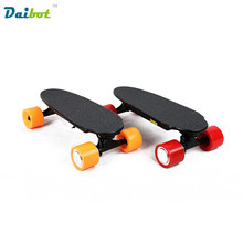 No Tax 2017 New Wireless Remote Control Mini Four Wheels Electric Skateboard Hoverboard Longboard Scooter Board