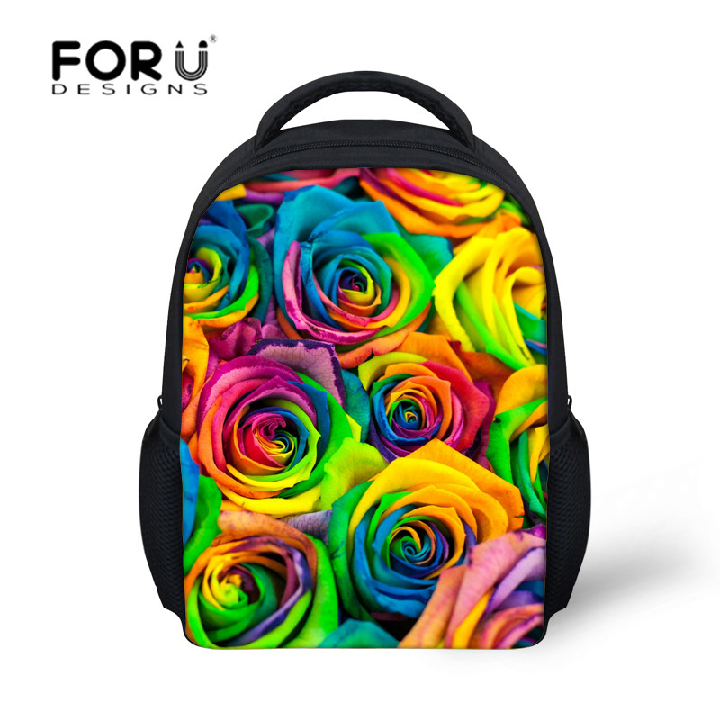 Newest 3D Flower School Bag Children School Backpack For Kindergarten Girls Schoolbag Small Bag Kids Fashion Mochilas Bookbag