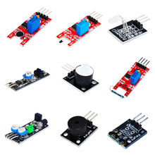 Buy New Ultimate 37 in 1 Sensor Module Kit for Raspberry Pi 3 compatible arduino uno r3 high quality diy kit without assortment box