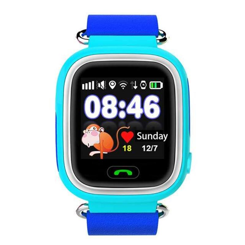 Q90 GPS Touch Screen Kids Smart Watches SOS Call Location Device Tracker Anti Lo