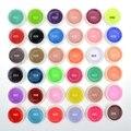 Beau Gel 36 Colores Puros Semi Permanente de Vernis Esmalte de Uñas UV Gel Francés Pintura Bio Gel Extensión de Uñas Laca Gel