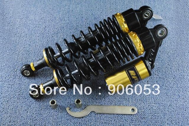 EMS OR DHL 340MM  Black RFY air gas Shock Absorber Fit  to XL100K XL100 CT125C SL125K TL125 XL125 185  modification Universal