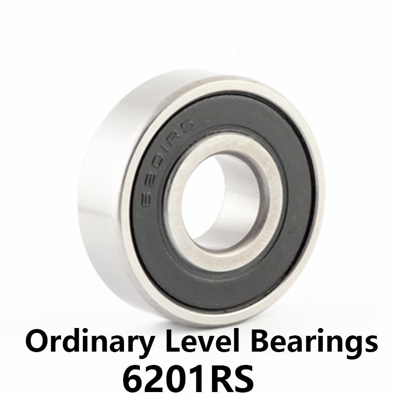 Bearings 6201 RZ 2RZ Rubber Sealed Deep Groove Ball Bearing 12 x 32 x 10mm