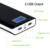 Golf 15600 mah grande banco de potência capacidade tela lcd dual usb externo bateria portátil banco de energia móvel para iphone 5 6 7 android