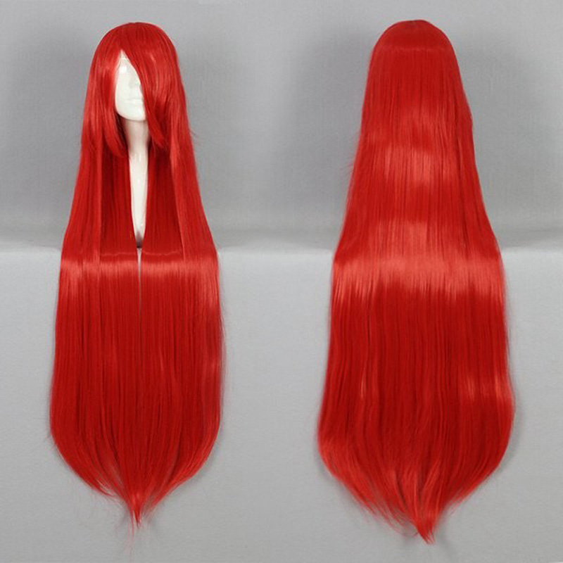 HAIRJOY Synthetic Hair Cosplay Wig 100cm Long Straight  Party Costume Wigs  22 Colors Available 2