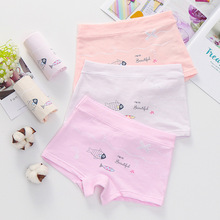 5Pcs/lot 2019 New Children Cotton Panties girls cute cartoon printed baby kids boys Underwear Boxer Briefs