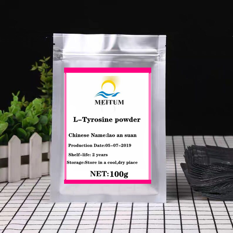 High Quality Tyrosine, L-tyrosine Powder Improves Mood, Eliminates Fatigue And Irritability, Lao An Suan, Free Shipping