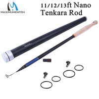 Nano Japanese Carbon Fiber12ft 7 3 Action 9 Segments Tenkara Fly Rod