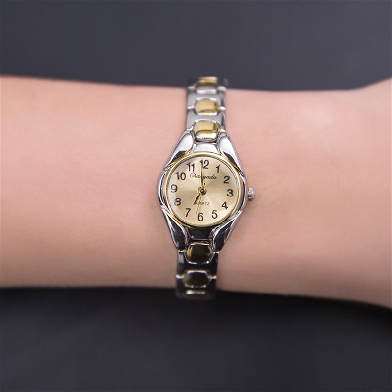 2016 New Fashion Watch Women Dress Watches Women Bracelet Montre Femme Gold Quartz Ladies Wrist watches
