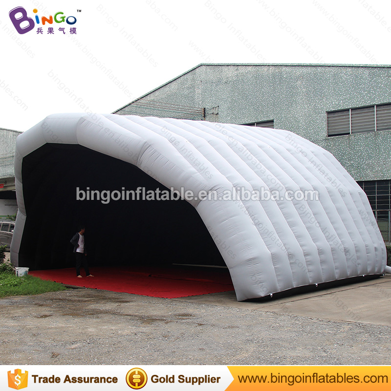 Free delivery inflatable stage cover tent outdoor event arch shape Customized blow up air roof  tent marquee toy tents 6 8x4x3 4m oxford cloth inflatable stage tent inflatable stage cover inflatable canopy tent for concert with free shipping