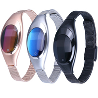 Hot Sale Smart Band Android Ios Z18 Blood Pressure Heart Rate Monitor Wrist Watch Luxurious Watch