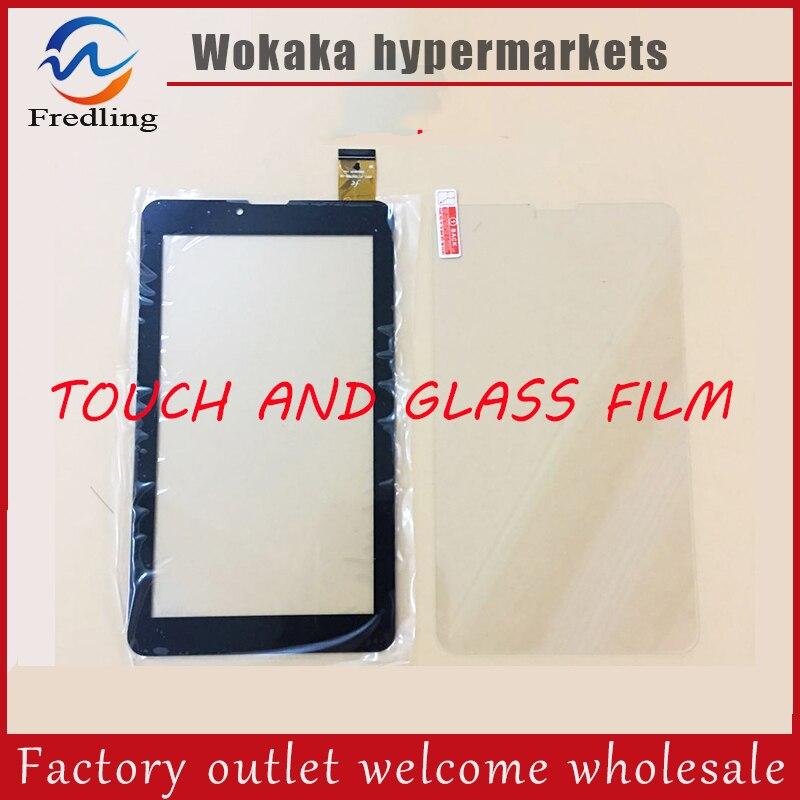 Tempered glass protector film+For 7 Irbis TZ41 TZ42 TZ43 TZ44 TZ45 TZ46 TZ47 TZ48 TZ49 3g Touch screen panel Digitizer Glass irbis tz43 7 0 4gb 3g black