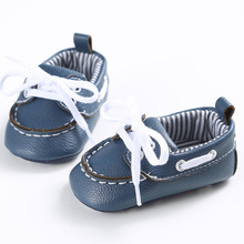 Newborn Baby Shoes Infant First Walkers Lace-Up style Boys Girls Shoes Toddler Soft Soled Comfortable Non-slip Shoes