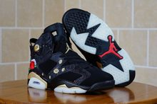 33d0c9ed4c0577 Jordan First Layer Suede Jordan 6 CNY AJ6 Peony Men sports sneaker  basketball shoes 40-47