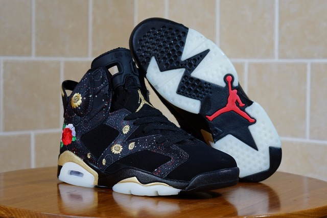 5f6d7c265 Jordan First Layer Suede Jordan 6 CNY AJ6 Peony Men sports sneaker  basketball shoes 40-47