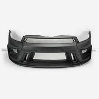 Car Accessories FRP Fiber Glass Front Bumper Car Styling Car Accessories For VW Scirocco R AS