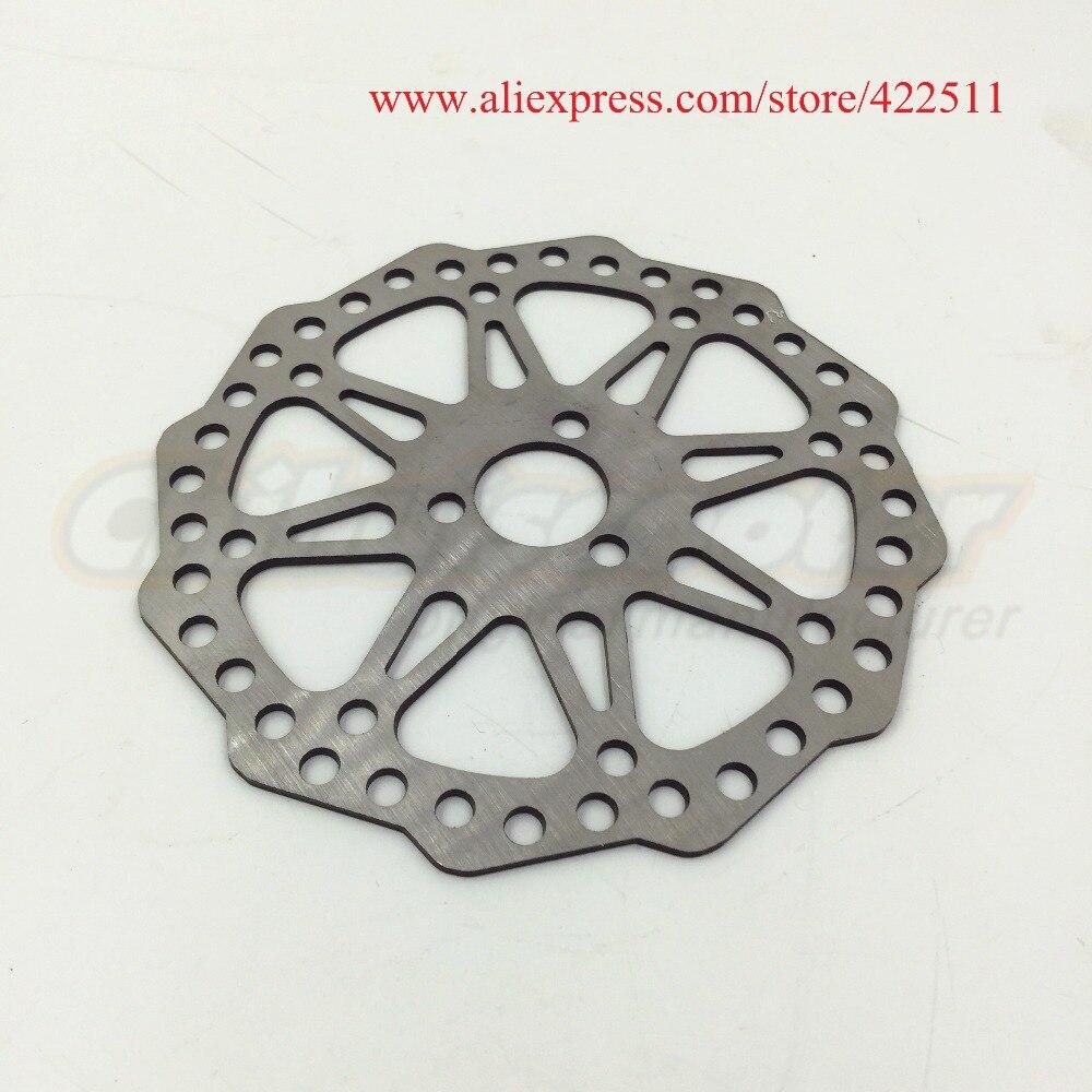Prix pour Nouveau disque disque de frein ( OD = 120 mm / ID = 19 mm ) pour 200 * 50 ( 8 * 2 ) roues ( enfants Scooter pièces de rechange )