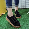 New 2016 Tide All-match Black Women Shoes Korean Students Lazy Casual Shoes Breathable Zapatos Mujer X039