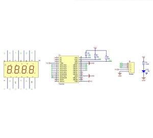 Image 5 - Adeept New TM1638 LED 4 Digit 7 Segment Digital LED Display Module for Pi Arduino Raspberry Pi ARM AVR DSP PIC Freeshipping
