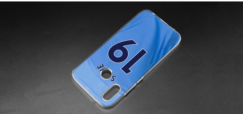 Kmuysl Leroy Sane Ls19 Transparent Soft Case Cover Capa Fundas For