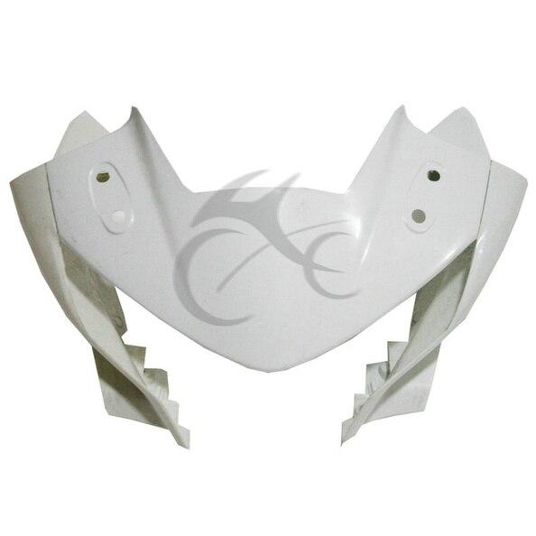 UPPER FRONT FAIRING COWL NOSE FOR HONDA CBR 250R CBR250R 2011-2013 12 abs front upper nose fairing cowl for kawasaki ninja 250r ex250 08 12 unpainted