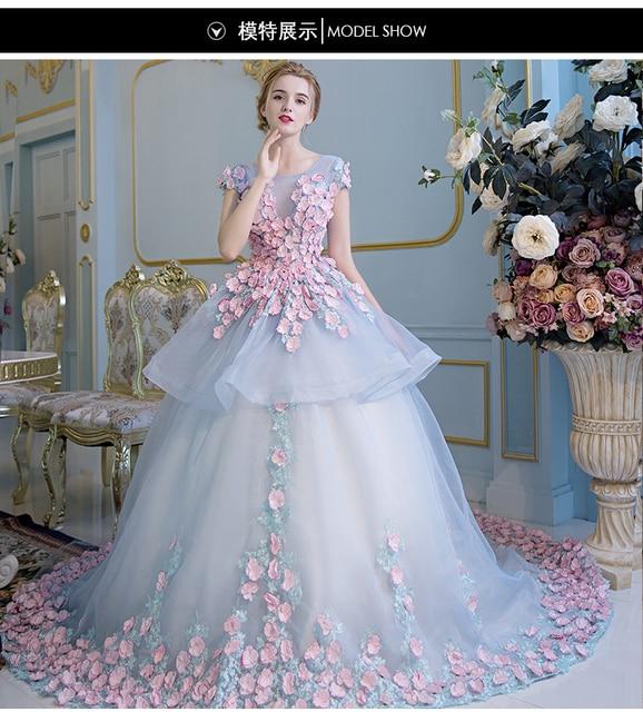 100% réel pétales complets cour trailing Médiévale Renaissance robe de princesse  Sissi robe Victorienne/