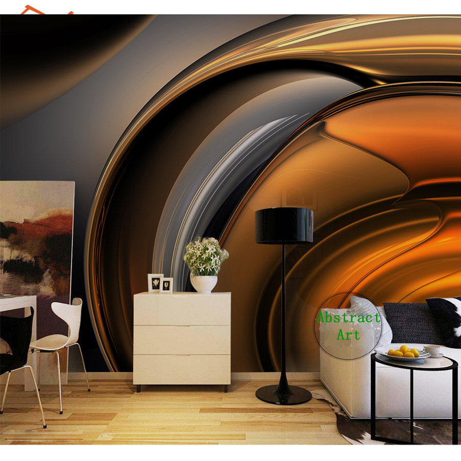 3d Photo Wallpapers Wall Mural Paper Wallpaper For Walls In Rolls Papers Home Decor Abstract Coffee Line Cafe Bar Background