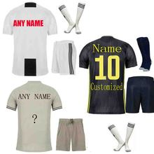 The European 2018-19New Men's Customized Name Numbers Men's T-shirt sets Top AAA Quality Team Soccer Uniforms Free Shipping