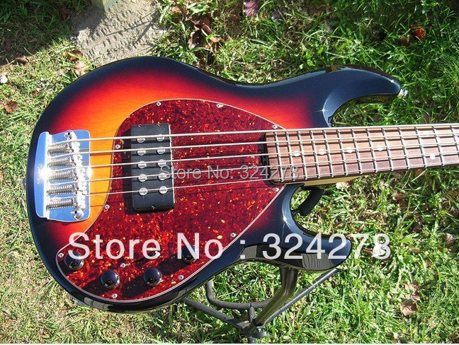 best electric guitar 5 string bass free shipping 2013 hot high quality new style in guitar from. Black Bedroom Furniture Sets. Home Design Ideas