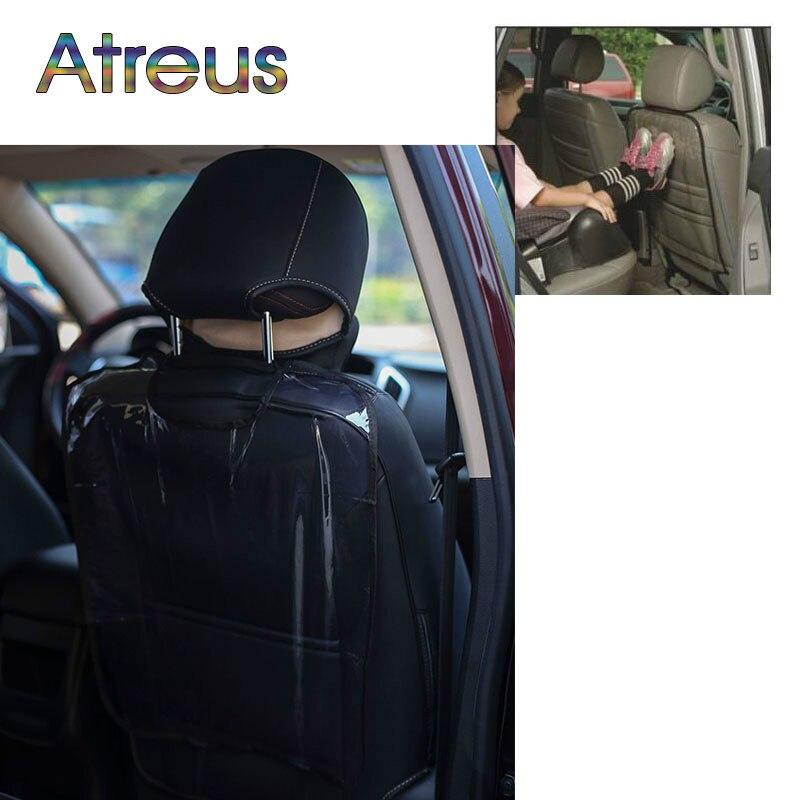 Sweet-Tempered Car Seat Terug Kind Protector Cover Anti Kick Pad Voor Peugeot 307 206 407 Citroen C4 C5 Honda Civic Accord Crv Lada Vesta Granta
