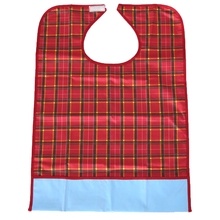 Washable Waterproof AdultS Mealtime Bib Cloth Protector Disability Aid Apron