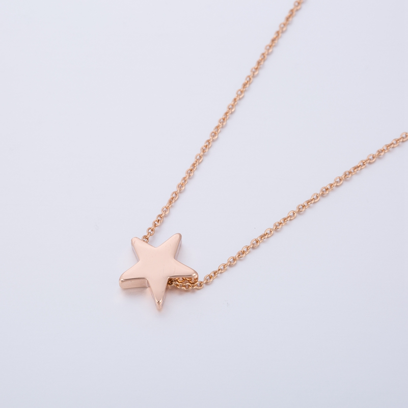 tiny shop crescent necklace moon small and star studio