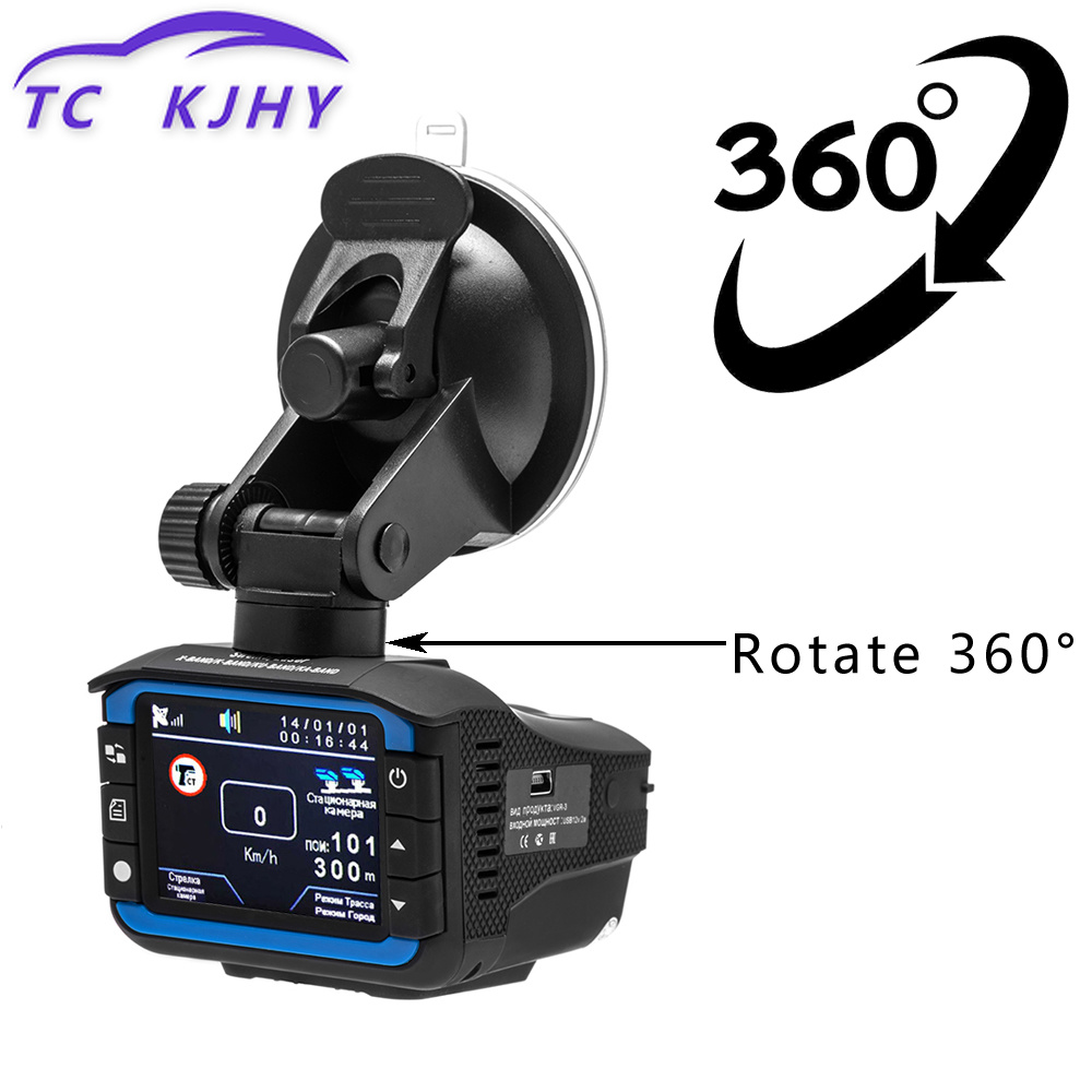 Russian 3 In 1 Dash Cam Car DVR Radar Detector GPS Tracker Driving Recorder Auto Video Dash Camera Motion Detection G-sensor 2 4 car dvr camera 3 in1 russian radar detector dvr video camera recorder tachograph traffic warning device gps tracker