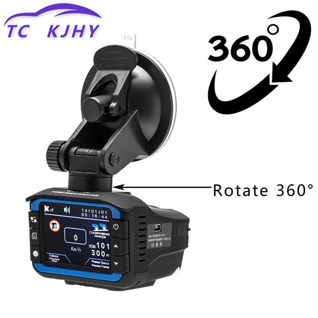 Russian 3 In 1 Dash Cam Car DVR Radar Detector GPS Tracker Driving Recorder Auto Video Dash Camera Motion Detection G-sensor