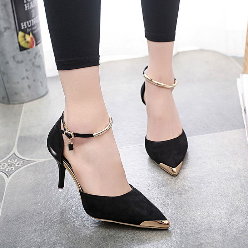 Women Suede Pumps High Heels Women Pumps Sexy High Heels Shoes Women Pointed Toe Thin Heel Ladies Wedding Shoes haruyama гель лак 101
