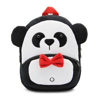 2020 Cartoon Kids Plush Backpacks Mini Kindergarten schoolbag Plush Animal Backpack Children School Bags Girls Boys Backpack - 27