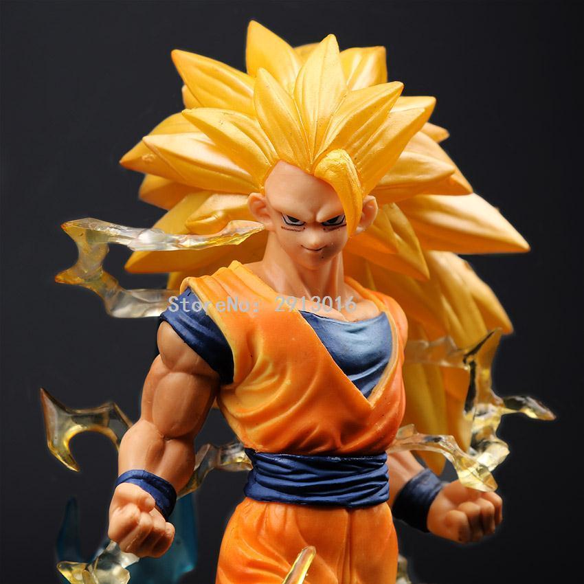 Goku Super Saiyan 3 Action Figure 18cm