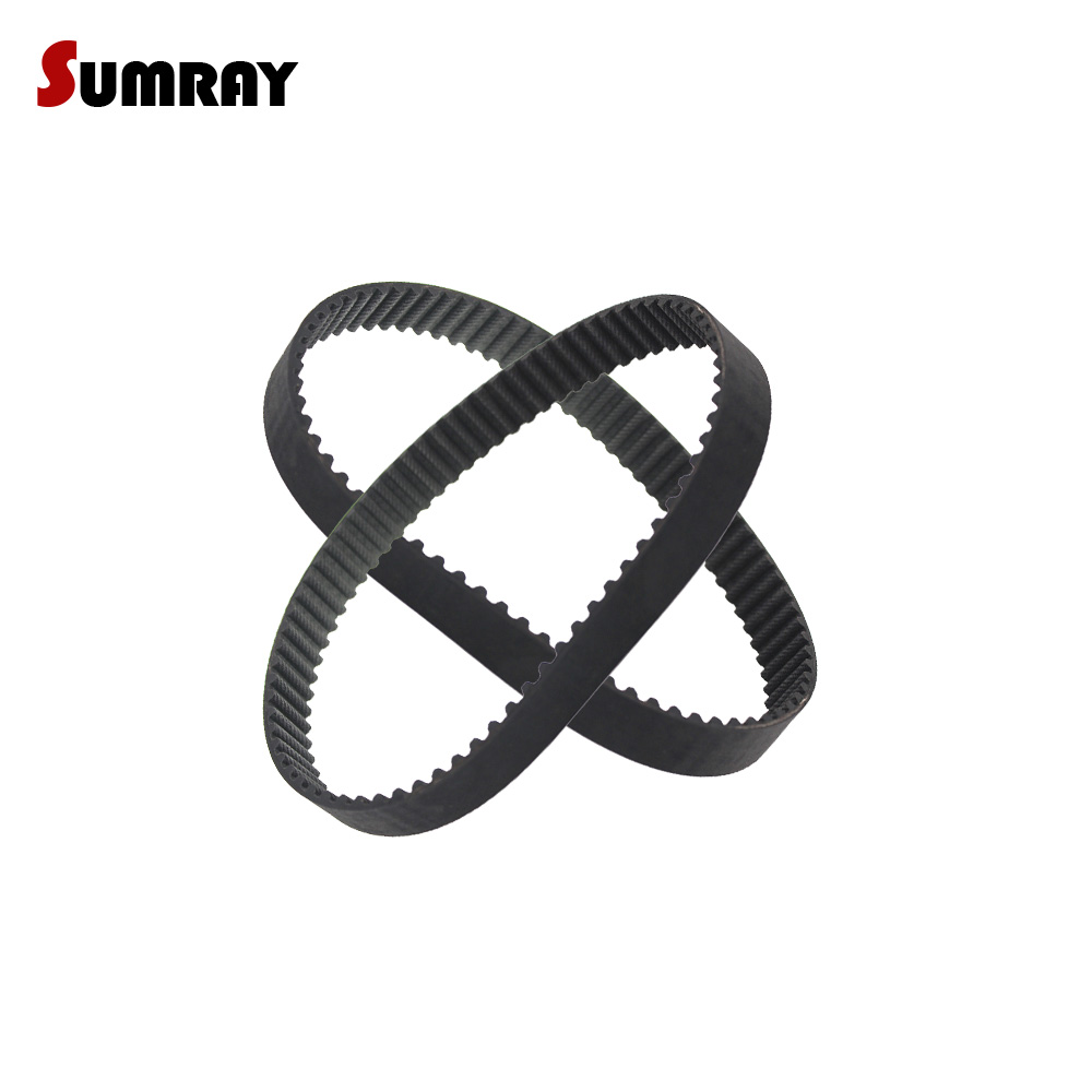 120mm to 495mm CNC Drives HTD 3M Closed Timing Belt 3mm pitch 10-15mm width