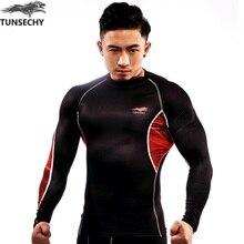 2017 original brand New Fashion Fitness Compression will t shirt Men Crossfit Plus Size Bodybuilding Men T Shirt 3 d Printed