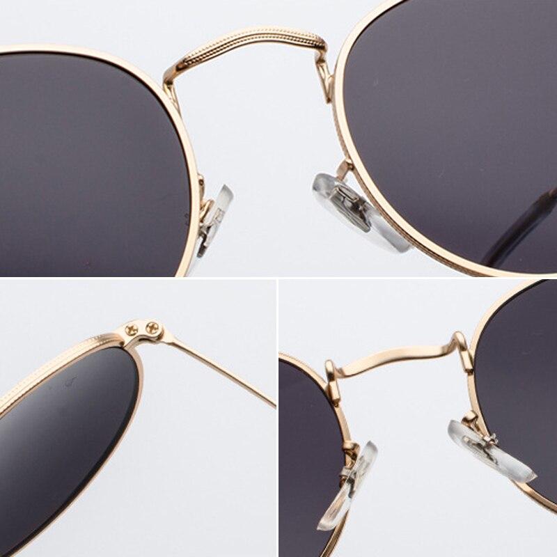 LeonLion New Arrival 2019 Round Sunglasses Women Classic Vintage Glasses Street Beat Shopping Mirror UV400 Gafas