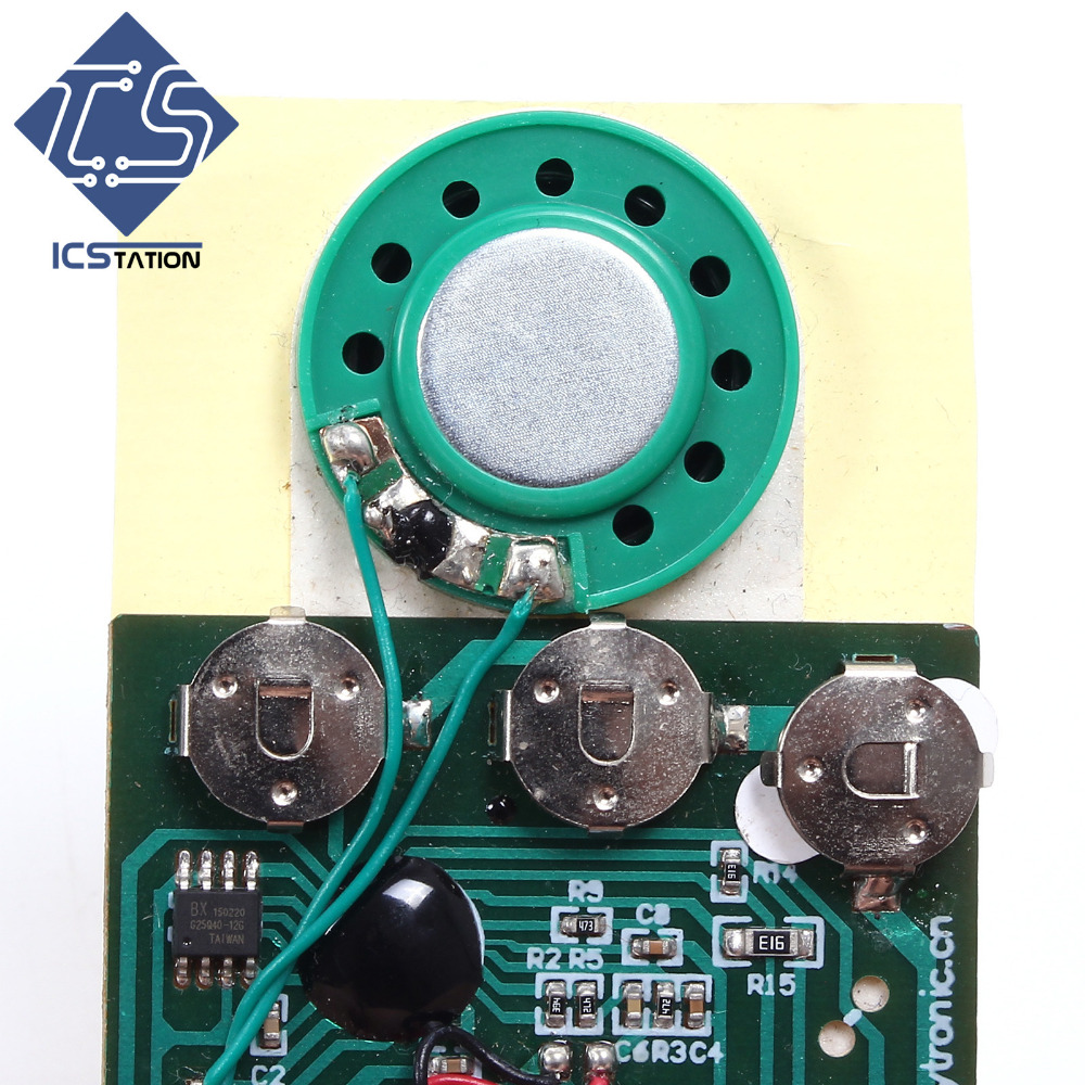 Фото 10pcs Programable Voice Module Light Sensor 30 Seconds Sound Playback Micro Digital Recording Chip Cards for Birthday Gifts