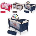 2018 New Baby Crib Bed Pug Pattern Bunk Bumpers Children's Bed Kids game cradles Bed Baby Bedding crib for baby HWC