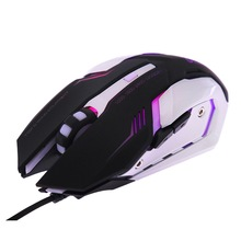 Ergonomics Optical Wired Gaming Mouse USB Gamer Computer Games Mice For Desktop PC Laptop Mause Notebook