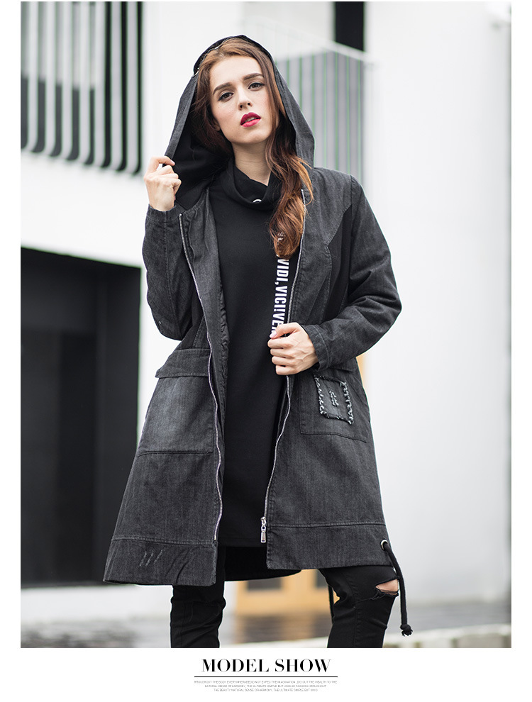 2018 Xl/5Xl Womens Large Size Long Section Hooded Jackets Cotton Padded Female Winter Autumn Warm Cotton Parkas Overcoats K504